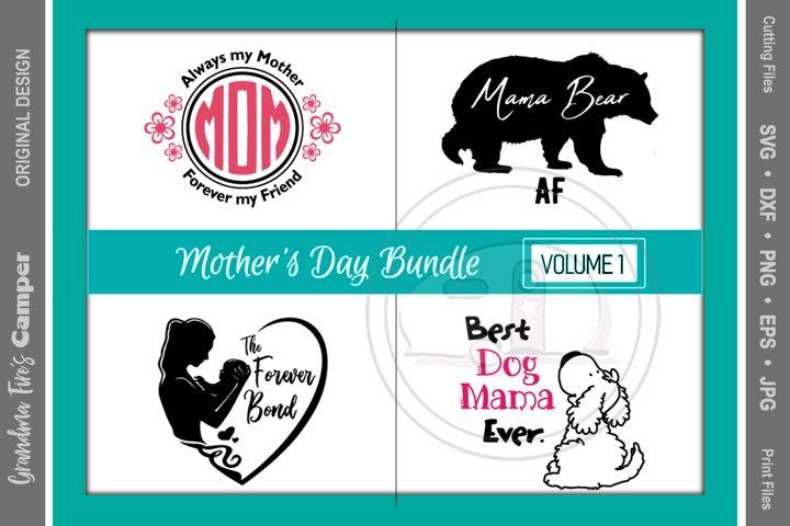Mothers Day SVG Bundle, Vol 1