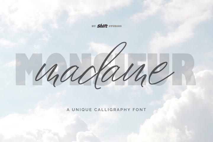 Madame Typeface