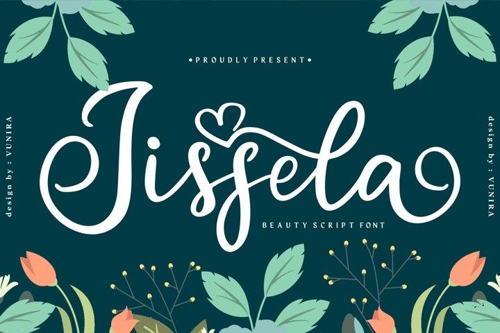 Jissela | Beauty Script Font