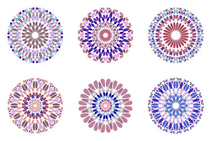 24 Floral Mandala Logo Templates example 2