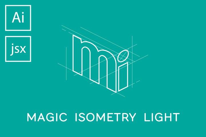 Magic Isometry Light Illustrator script