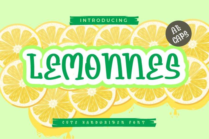 Lemonnes