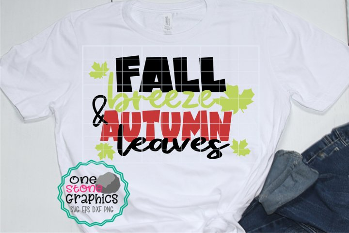 Fall svg,fall breeze and autumn leaves svg,leaves svg,fall