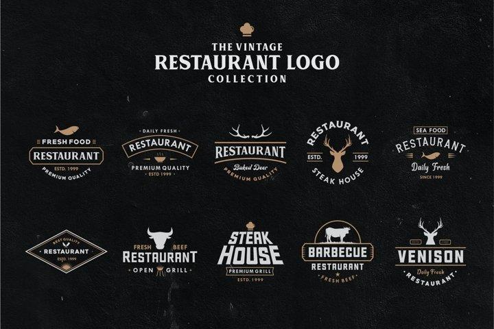 Restaurant Logo And Badge Vol. 1