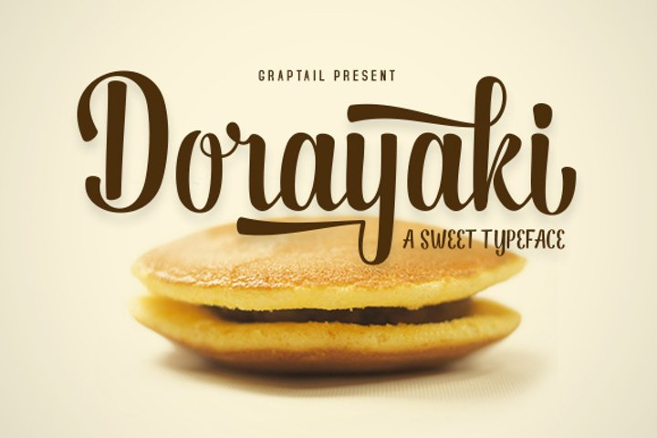 Dorayaki Script - Free Font of The Week Font