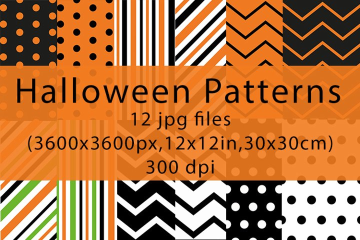 Bundle of Halloween patterns