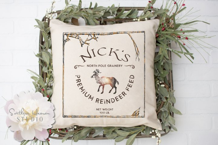 NICKS PREMIUM REINDEER FEED - PNG