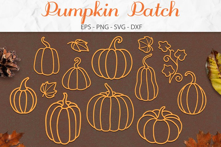 Pumpkin SVG, Fall SVG, Pumpkin Decor, Farmhouse SVG