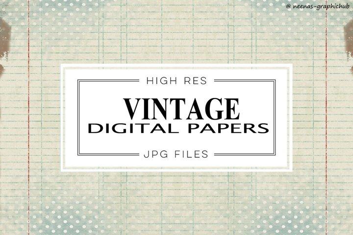 Vintage Digital Papers