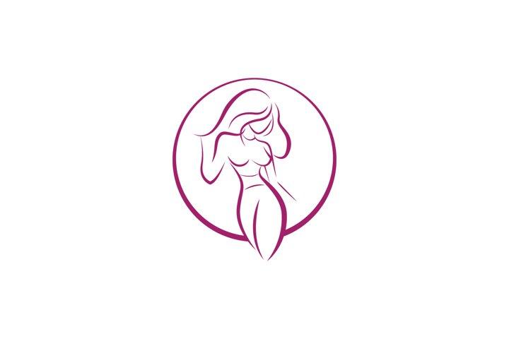 Beautiful Girl Logo