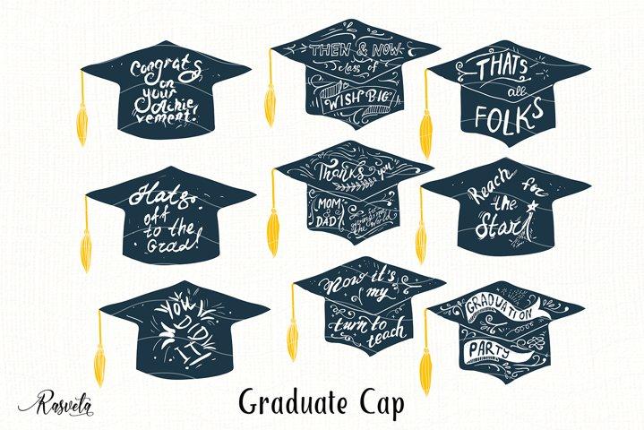 Graduate Cap with Quotes