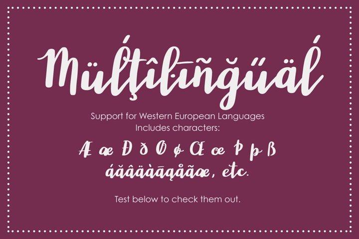 Wonderland, a modern calligraphy font - Free Font of The Week Design3
