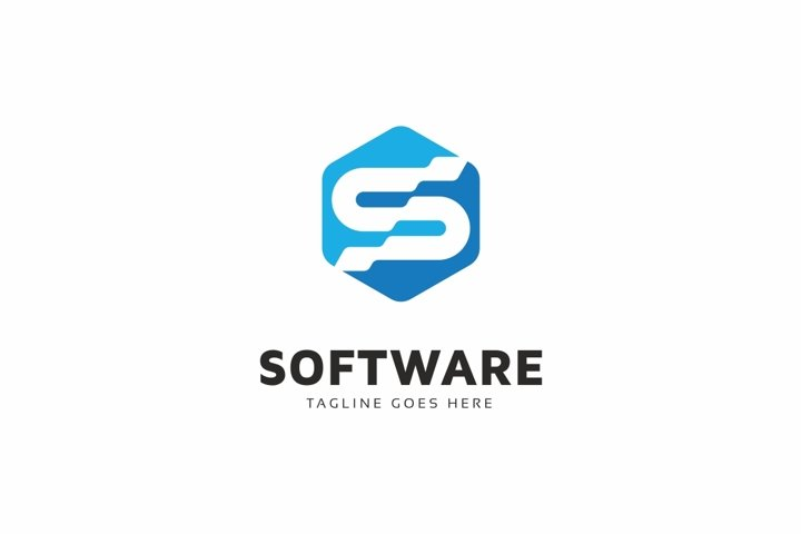 Software S Letter Logo