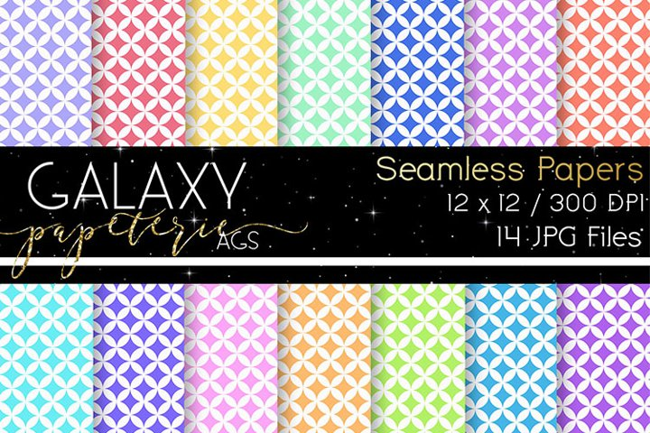 Digital Papers - Pastel Colors - Seamless Papers
