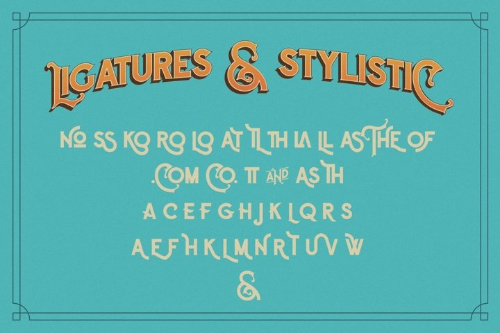 The Witch Typeface - Free Font of The Week Design2