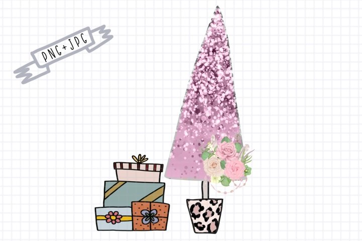 Sublimation Sweet Christmas Tree-Sublimation Clipart-PngFile