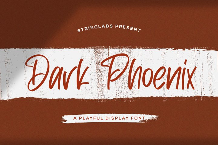 Dark Phoenix - Playful Display Font