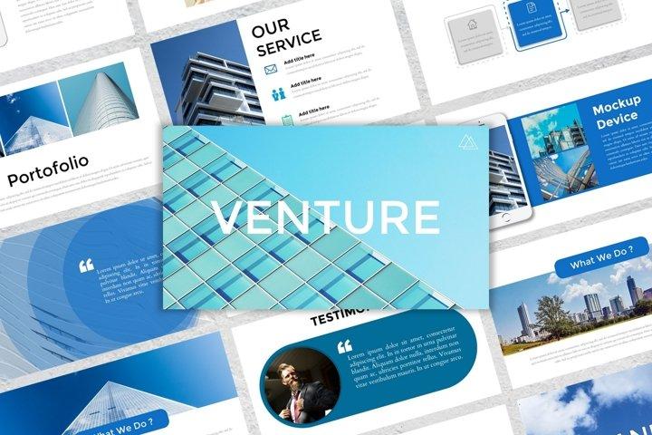 Presentation Templates - Venture