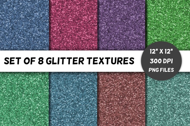 Glitter Backgrounds / Textures / Paper / Volume 3
