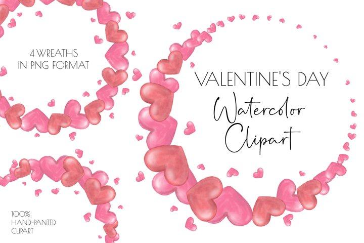 Valentine clipart, wedding clipart