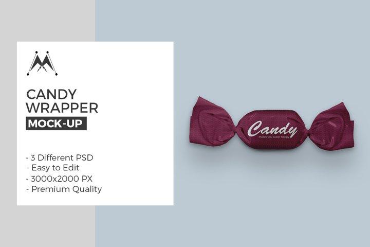 Candy Wrapper Mock-Ups Set