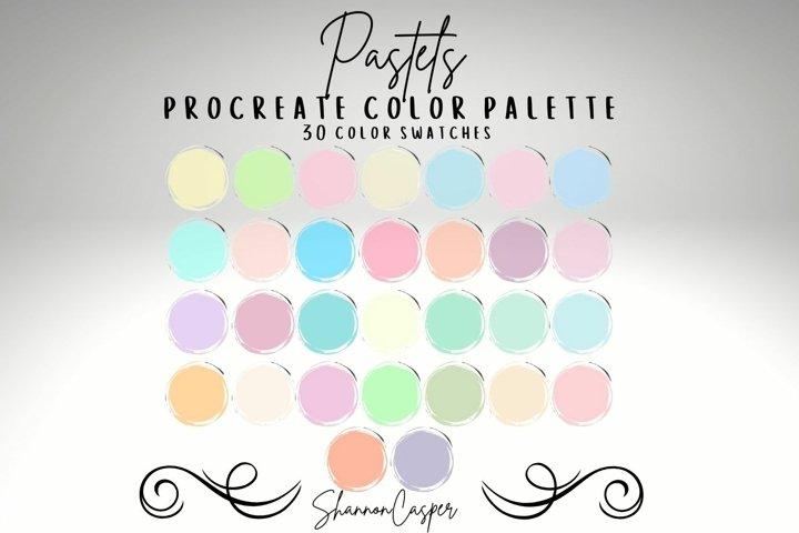 Pastels Procreate Color Palette