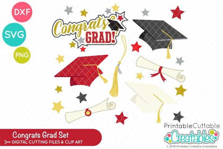 Congrats Grad - Graduation SVG Set