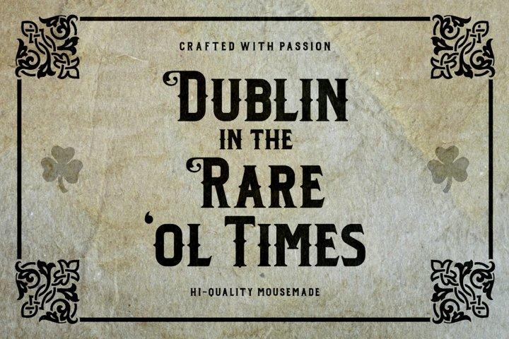 Dublin - Free Font of The Week Design2