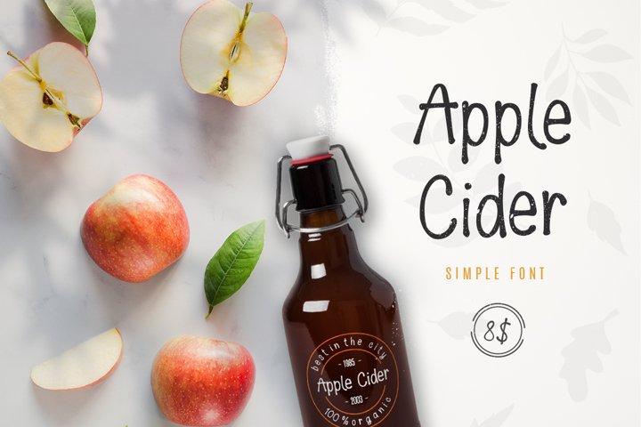 Apple Cider Font