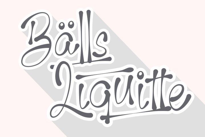 Balls Liquitte