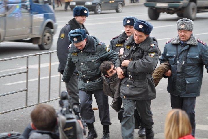 Freedom, democracy, Russia, Moscow, police, power ,.