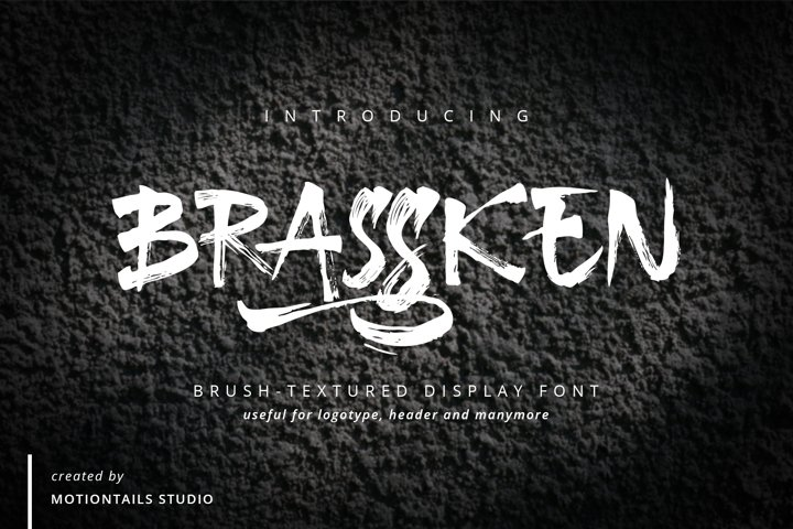 Brassken Brush Texture