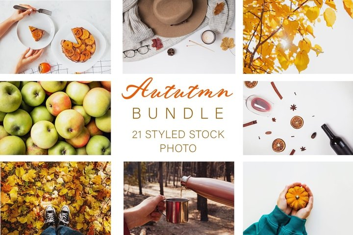 Autumn stock photo bundle