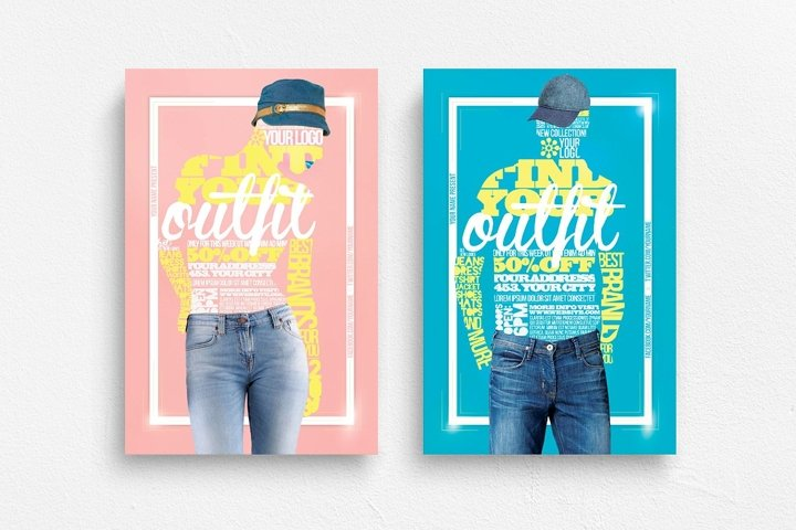 Your Outfit Flyer Template