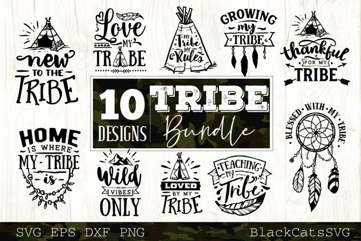 Tribe bundle SVG 10 designs Wild SVG bundle vol 4