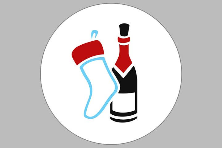 sock wine