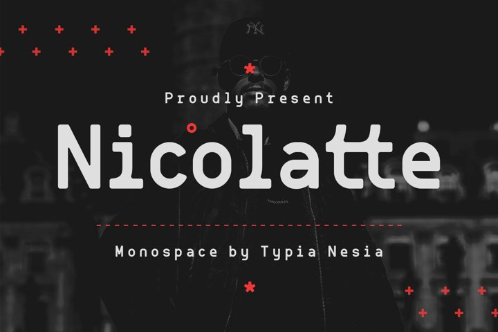 Nicolallte - Monospace Font