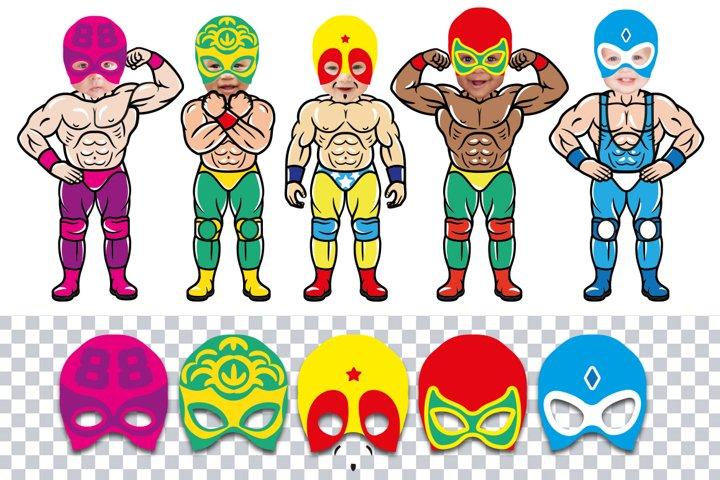 Lucha Libre Birthday Collection