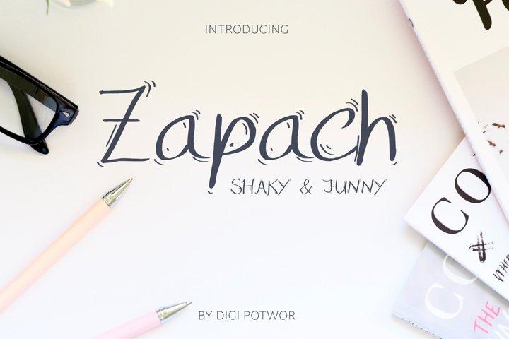 Zapach Font