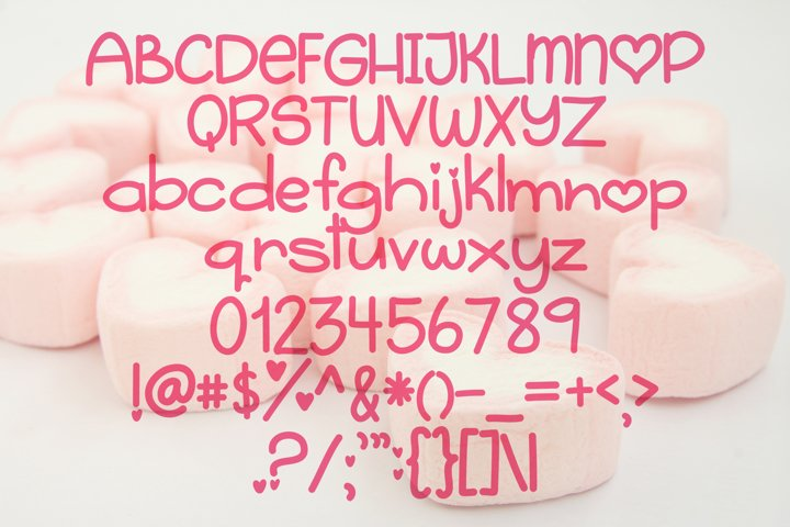Sugar Heart - Free Font of The Week Design0