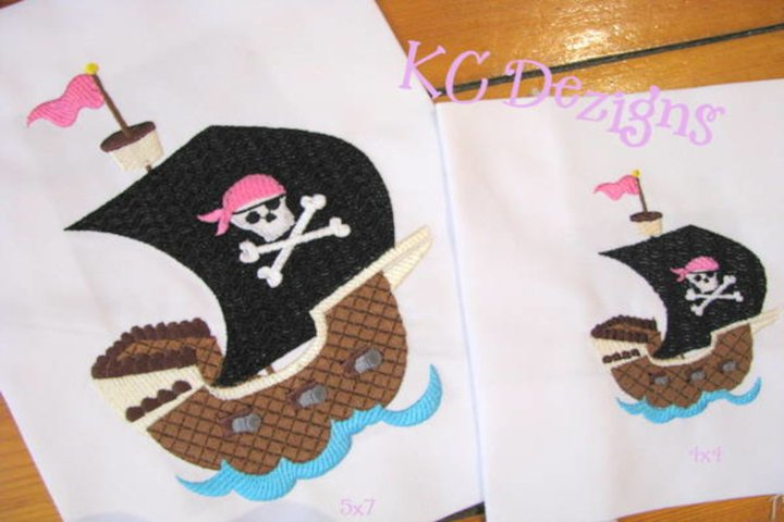 Pirate Girl Ship