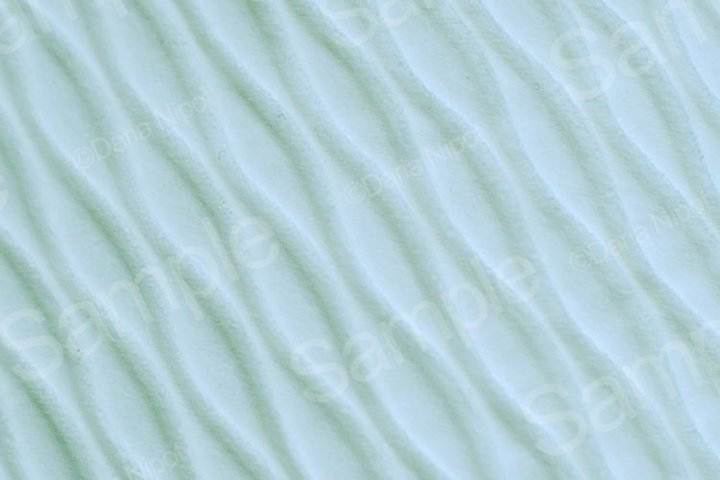 Soft blurred pale blue rib fabric texture background