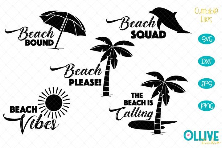 Beach Please SVG Bundle
