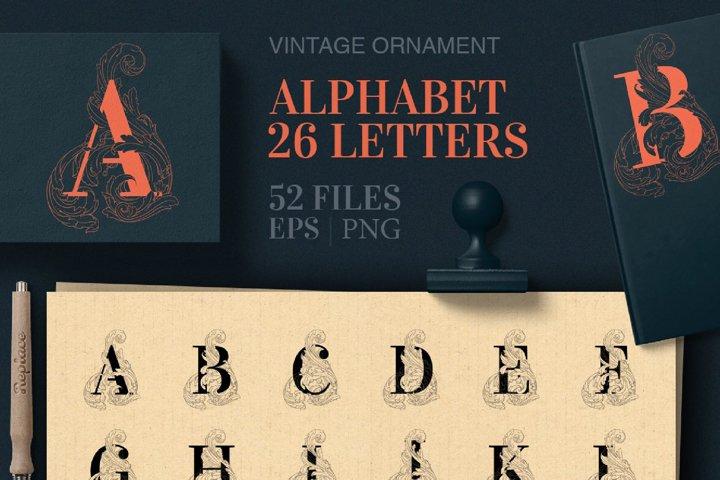 Alphabet letters vector   foil quil