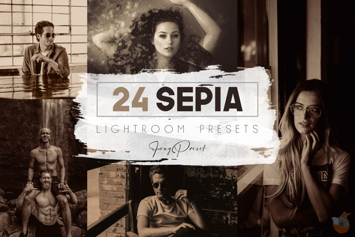24 Sepia Mobile & Desktop Lightroom Presets