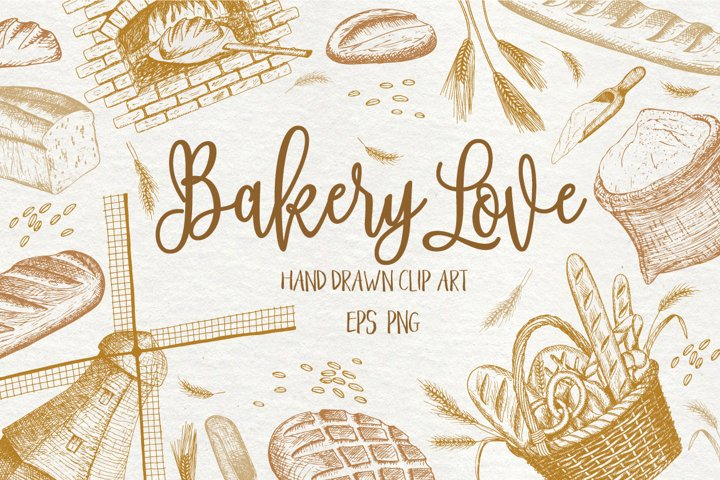 Bakery Love pack + many extras!