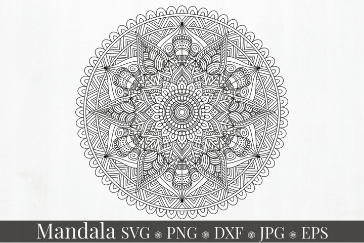 Mandala Art SVG Ornament