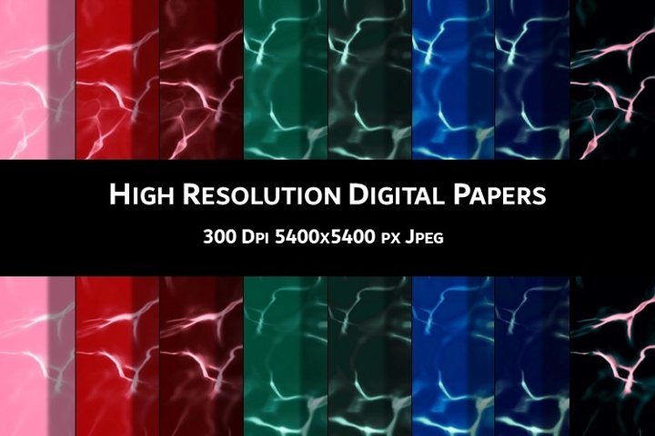 8 High Resolution DIGITAL PAPERS