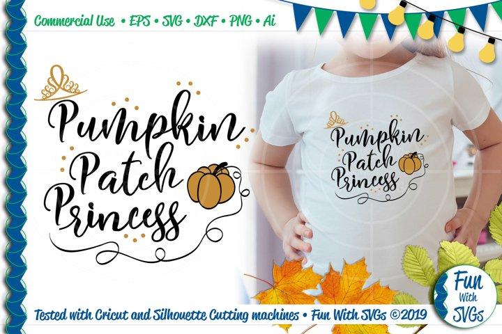 Pumpkin Patch Princess SVG Cut File