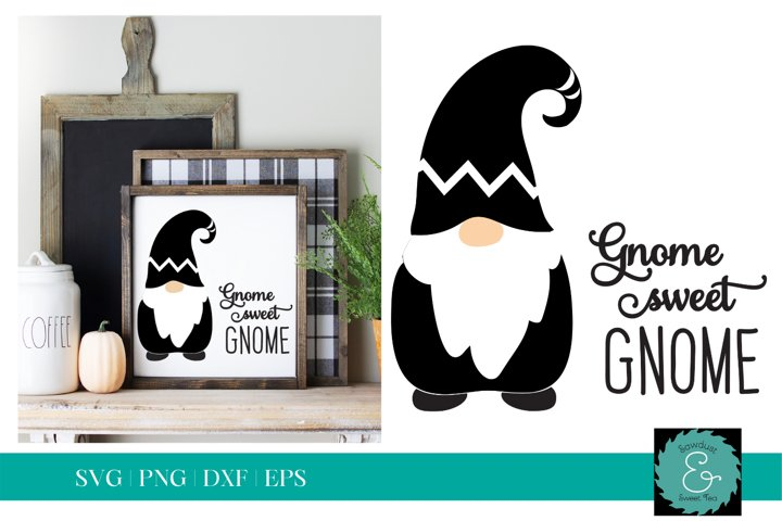 Gnome SVG, Glowforge Gnome SVG, Gnome Sweet Gnome